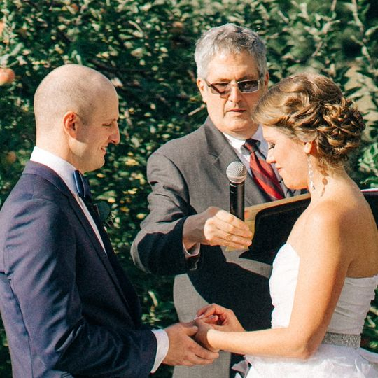 Time for wedding vows