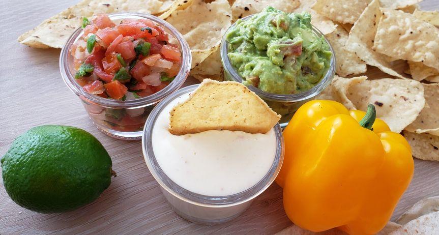 Queso, Guacamole and Salsa!