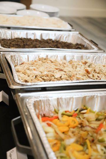 Burrito buffets