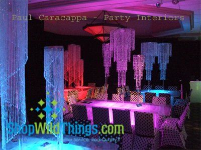 Chandeliers for Weddings or Parties! We have hundreds to choose from...and you can use them on the...