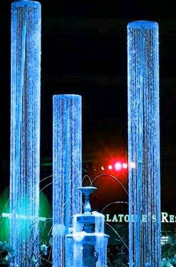 Crystal Columns - Change Colors with Lighting! Available in sizes up to 20' and more!