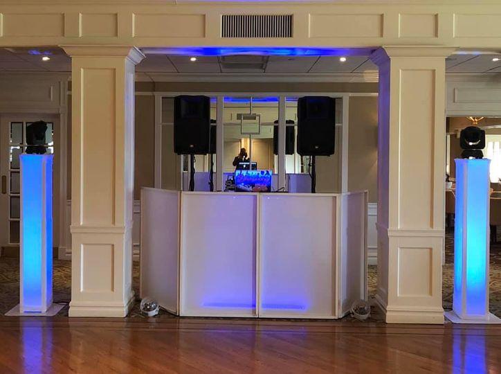 Wedding DJ Set Up