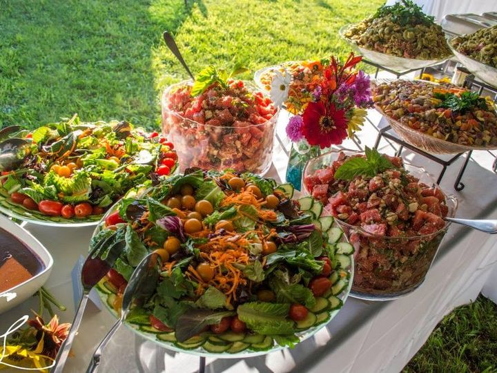 Tmx 1420818178303 Salads2 Dexter, Michigan wedding catering