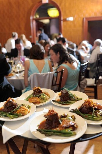 Great blue heron catering wedding ideas