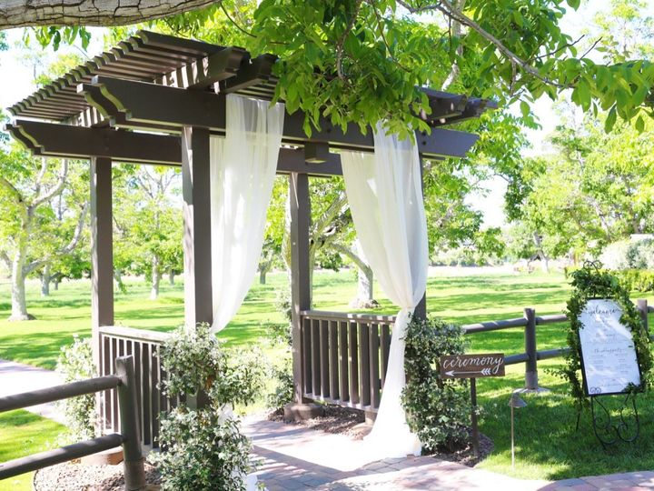 Tmx 1500926420141 Ceremony Entrance Arch With Draping Moorpark, CA wedding venue