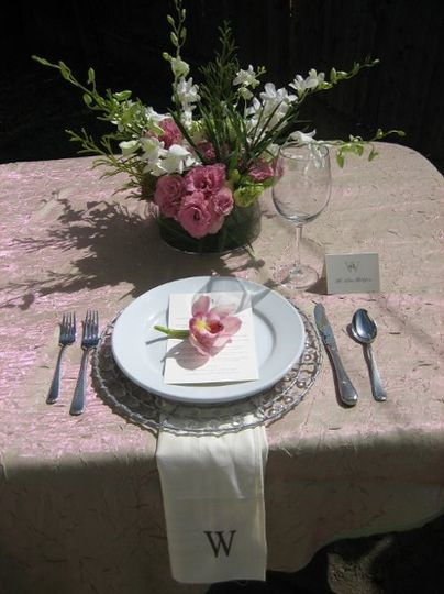 For each client we do mock-ups of table settings to make sure that the caterers and florist have a...