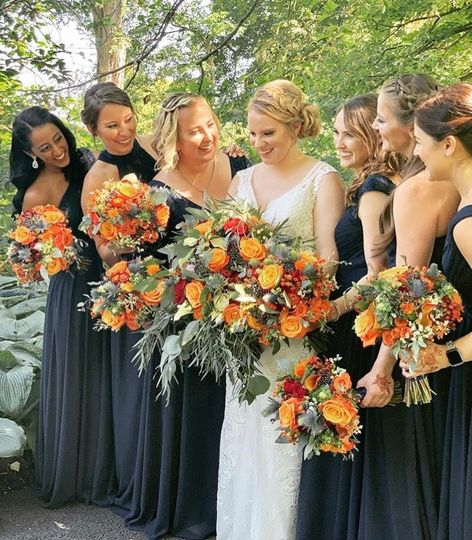 Perfect fall bouquets