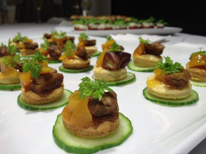 1dae9f2758887ecc 1390969095667 pan seared foie gras w peach chutne