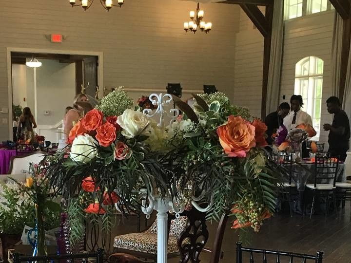Tmx 1507734787973 Big Fake Wild Centerpiece Acworth wedding florist