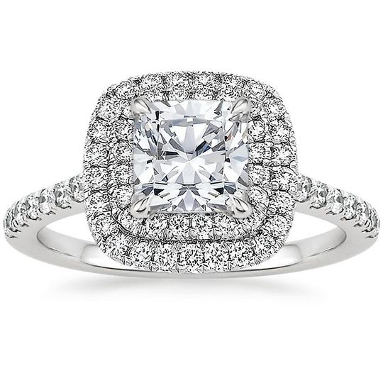 Halo Engagement Rings