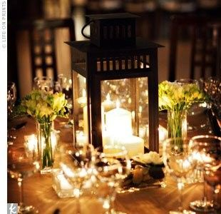 Tmx 1488842571498 Lantern W Flowers And Candles Cypress, Texas wedding florist