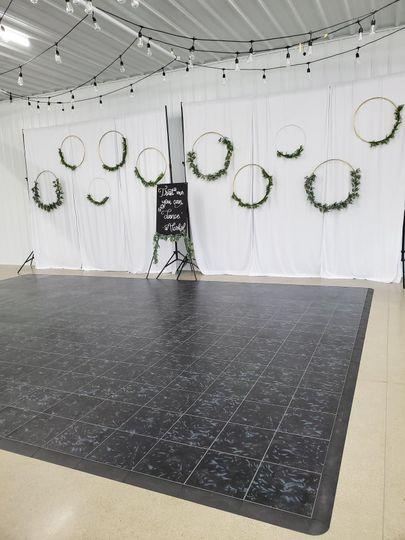 Our dance floor