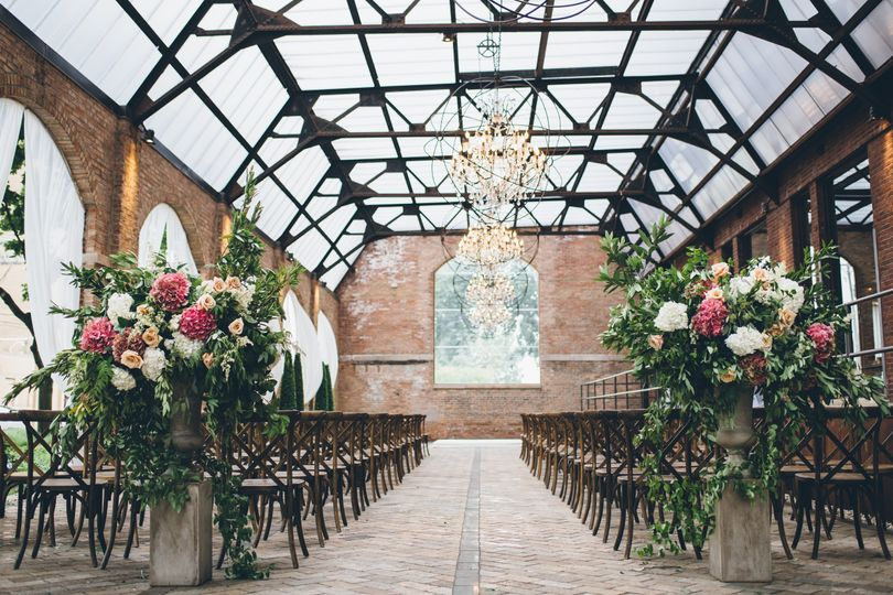 Sculpture Garden Wedding