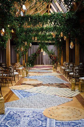 Boho Ceremony Space