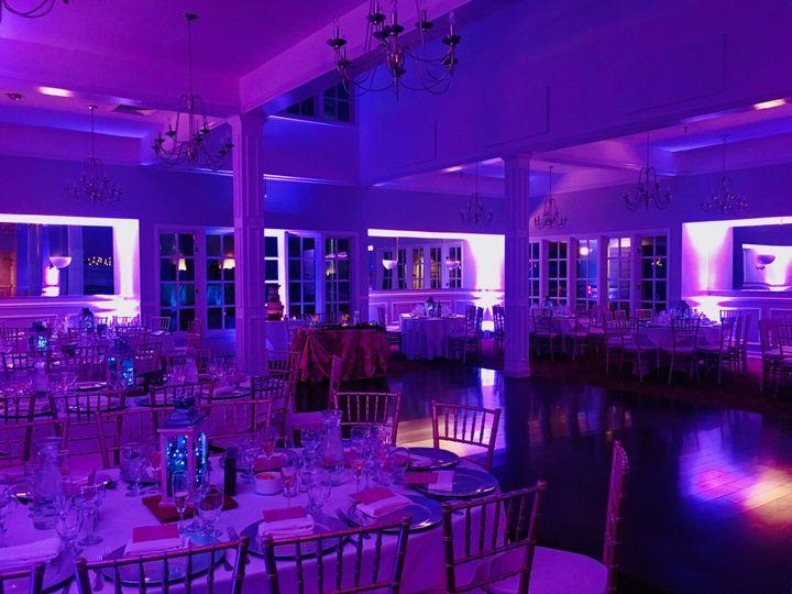 Ballroom with Mood Lighting