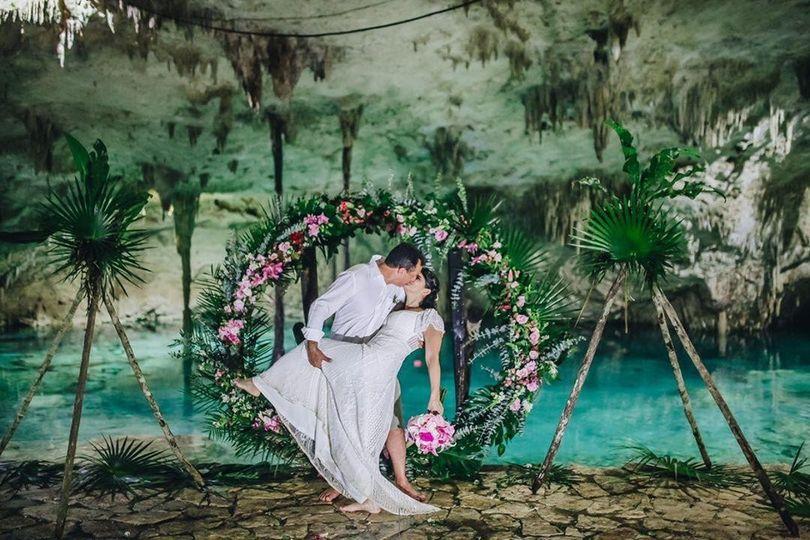 Circle Altar Cave Ceremony