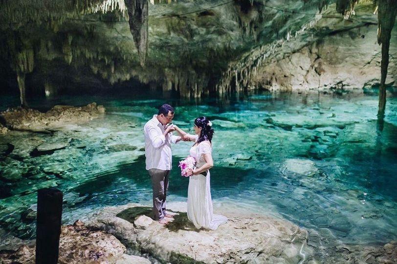 Cenote Wedding Ceremony
