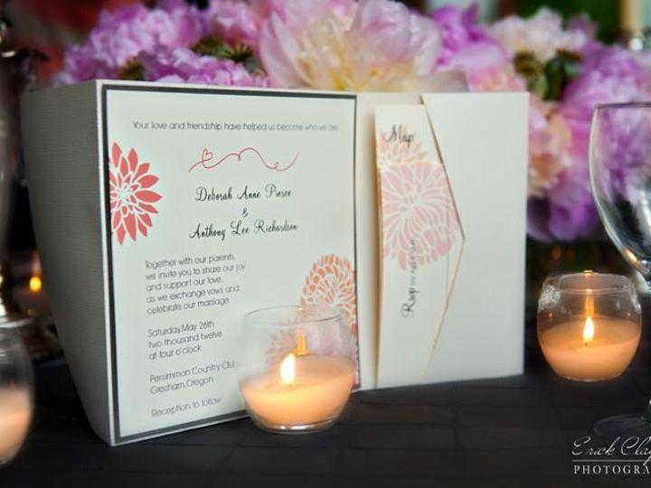 Tmx 1348936557788 EricClaytor2 Sandy, Oregon wedding invitation