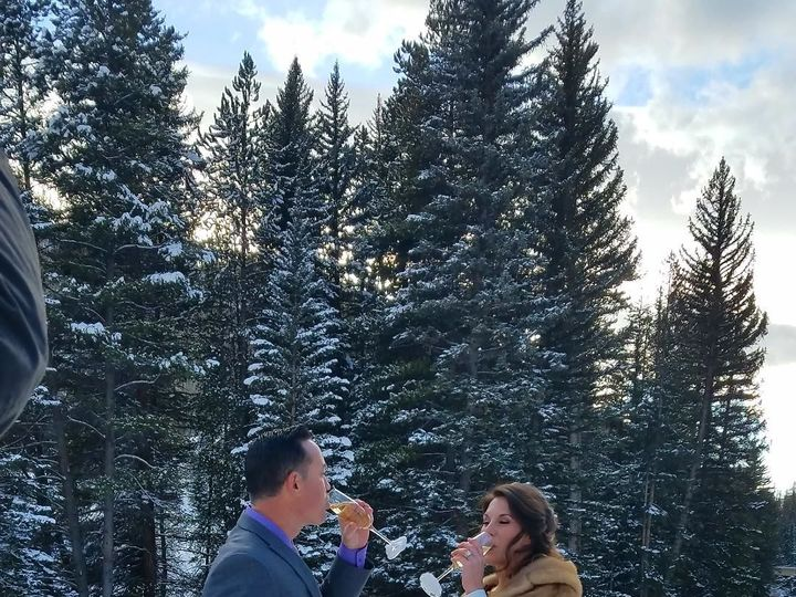 Tmx 1517597052 F3b534ebcf7c2ef6 1517597051 34b0d1dea6cd4885 1517597050036 3 Lionshead Wedding Vail, CO wedding officiant