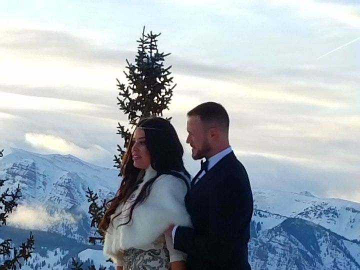 Tmx 1517597056 6355eac8b1bf7847 1517597055 376cd556e35795b2 1517597054803 4 Aspen Mountain Wed Vail, CO wedding officiant