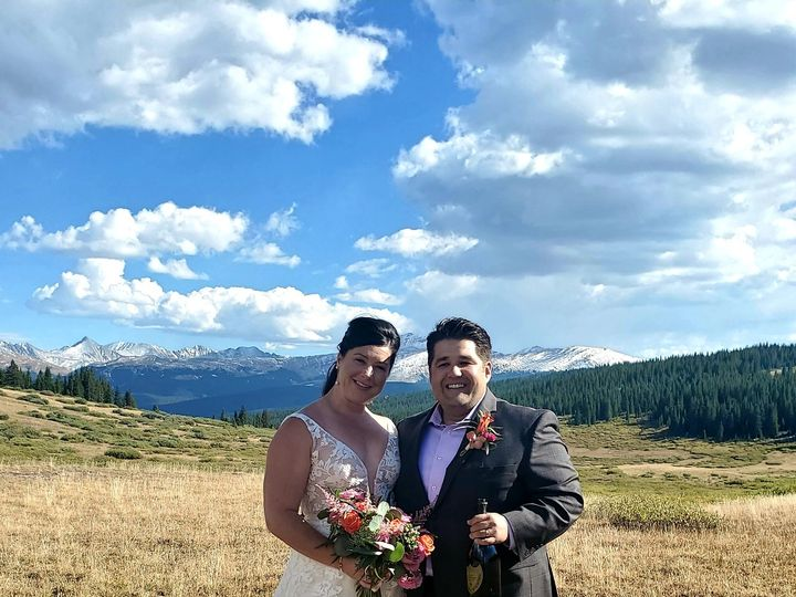 Tmx Couple With Dog At Exit 51 726111 160384456363830 Vail, CO wedding officiant