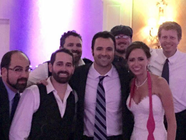 Wedding celebration  with the Honeymooners band