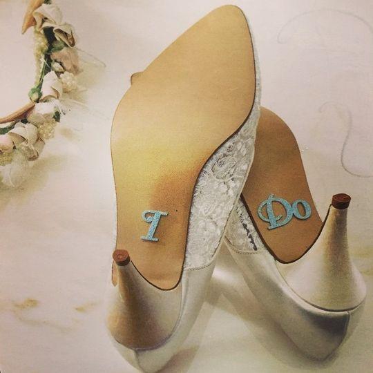 """""""I Do"""" shoes"""