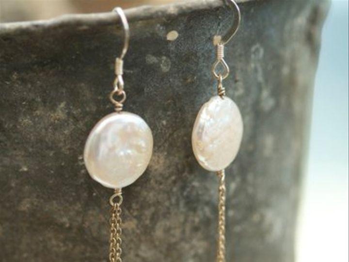 Tmx 1315367536832 Keishipearldropearrings Northport wedding jewelry
