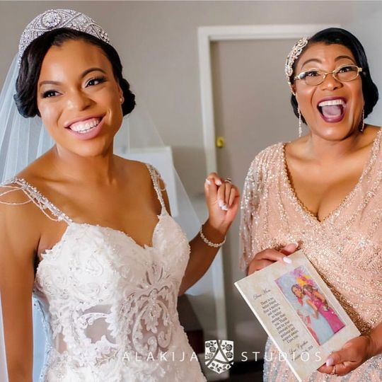 Bride & Mother Bliss