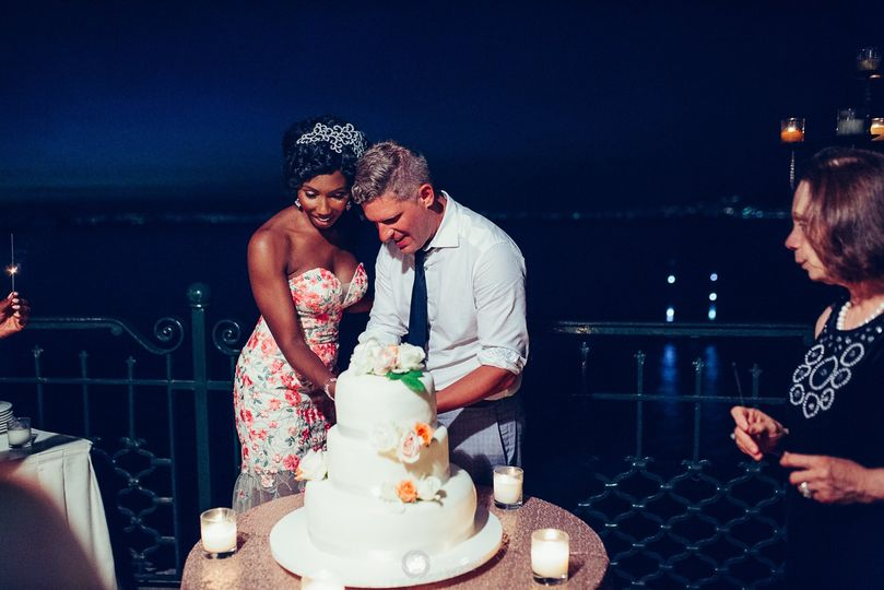 Wedding Cake cut - Amalfi
