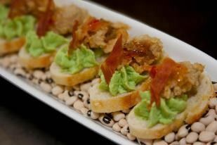 Tmx 1460390720497 Oyster Crostini Charleston wedding catering