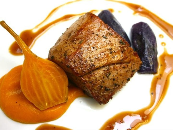 Tmx 1460390791924 Pork Tenderloin Butternut Squash Puree Yellow Beet Charleston wedding catering