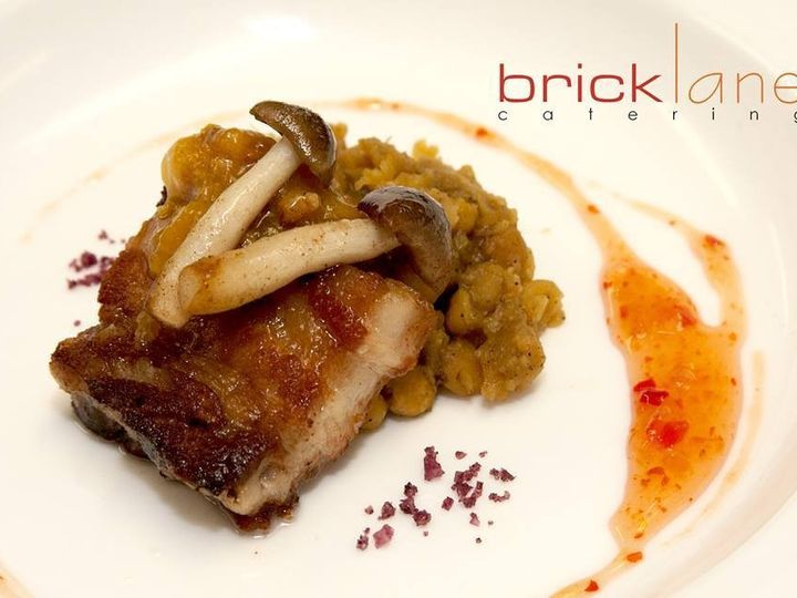 Tmx 1460390846538 Slow Cooked Pork Belly Curried Yellow Lentils Saut Charleston wedding catering