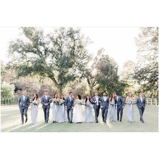Brookview wedding party