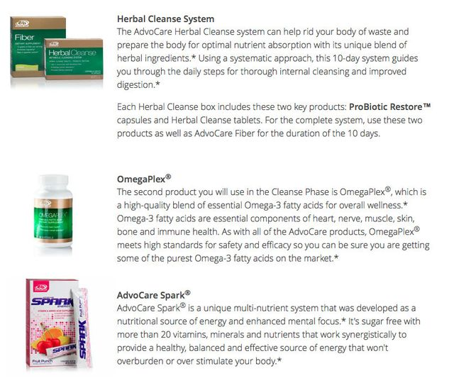 Advocare The 24 Day Challenge W Coaching Beauty Health