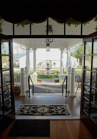 Pandora's Manor Courtyard