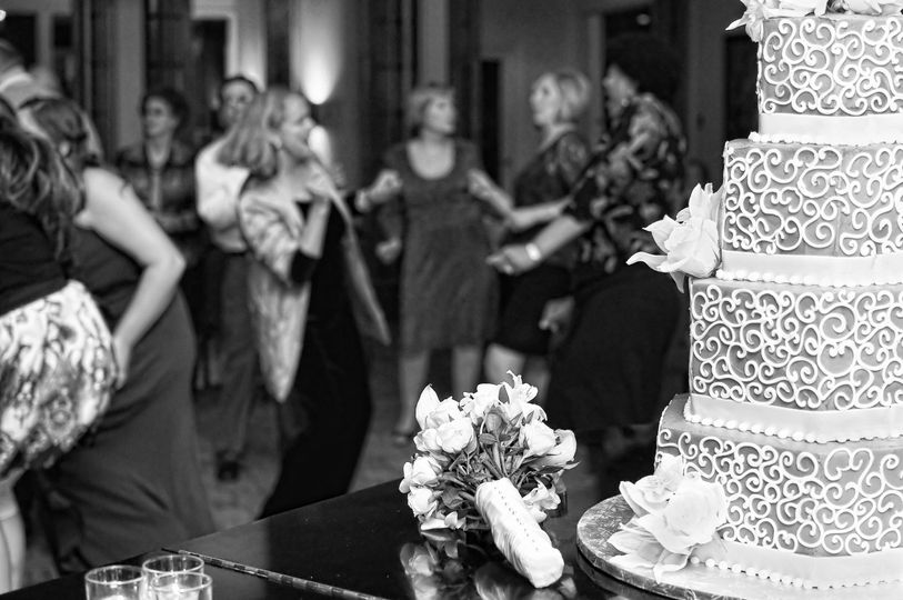 Cake and Wedding Dancers