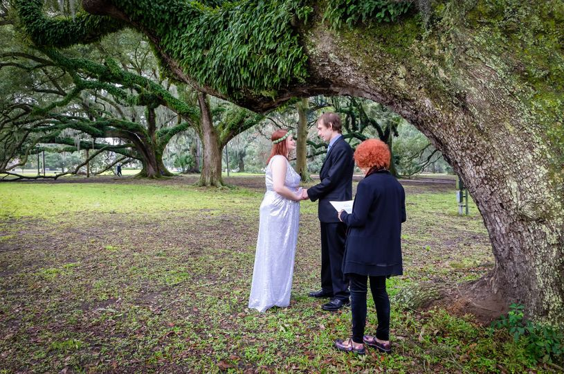 City Park Wedding NOLA