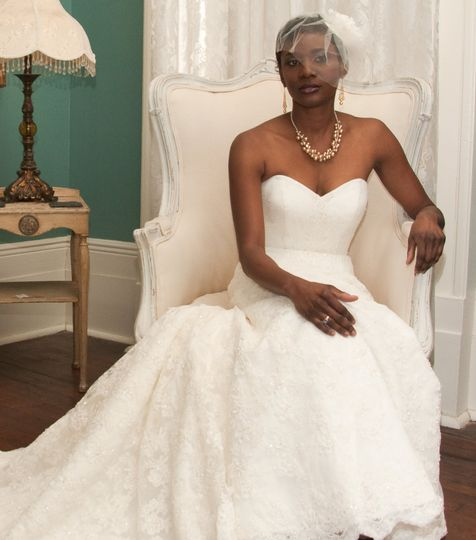 Bride in a Chair NOLA