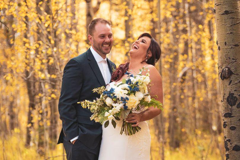 Autumn wedding in Lake Tahoe