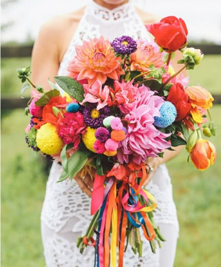 Fun and colorful bouquet