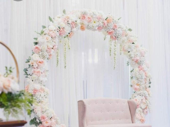 Tmx Light Pink Floral Circle Frame 51 1950211 158770345333787 Houston, TX wedding florist