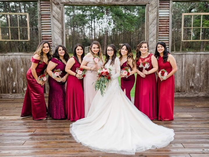 Tmx Norma And Bridesmaids 51 1950211 158770316197668 Houston, TX wedding florist