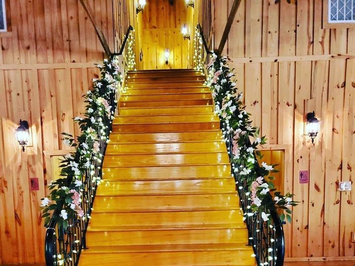 Tmx Stairs And Lights 51 1950211 158770324075609 Houston, TX wedding florist