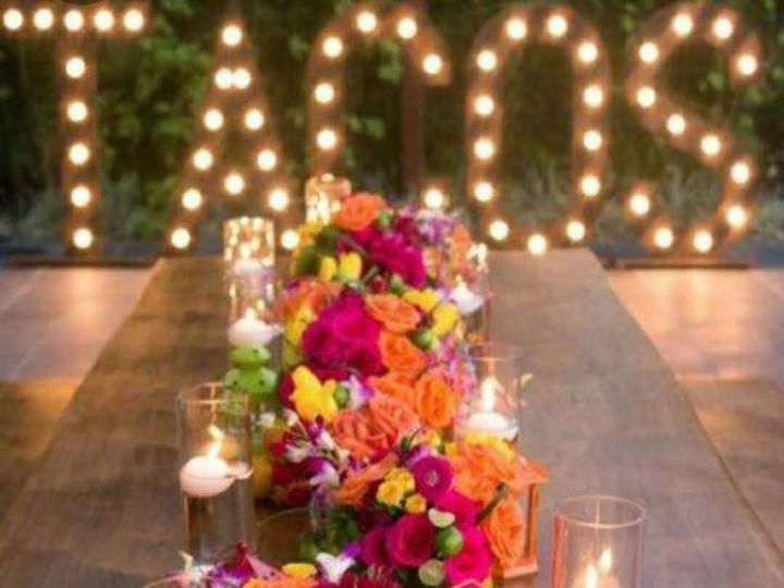 Tmx Tacos Arrangment 51 1950211 158770349346466 Houston, TX wedding florist