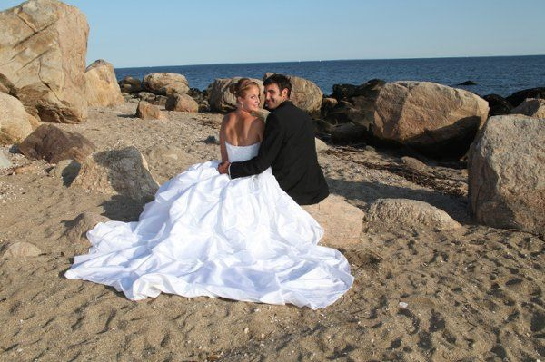 Bree & Thomas at Hammonnasett State Park (CT) for Ceremony - August 7, 2009 - reception followed at...