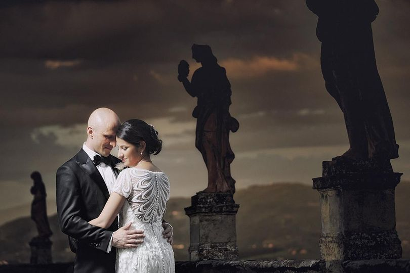 Romantic destination wedding in Florence