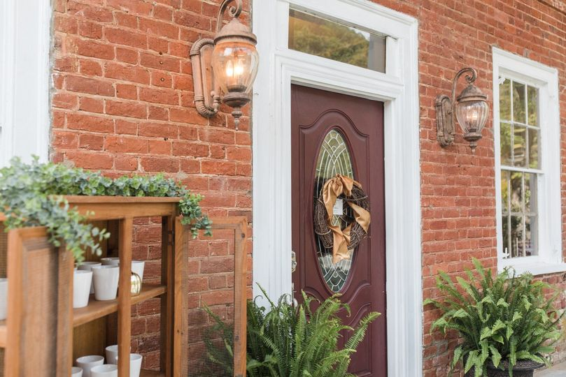 Welcome - front door