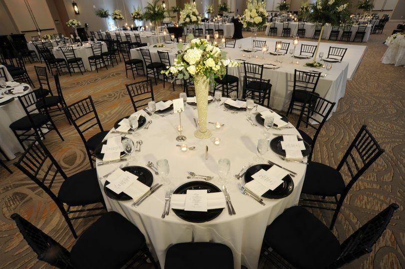 Elegant guest seating