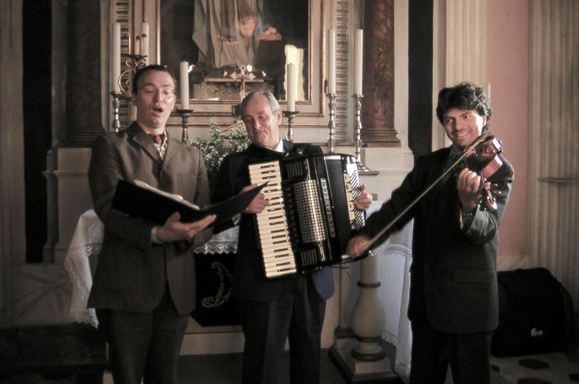 Tenor, Accordion and Violin